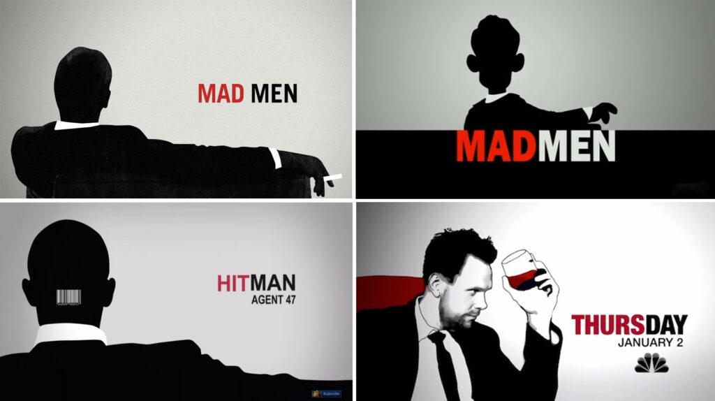 Mad Men Title Card Parody