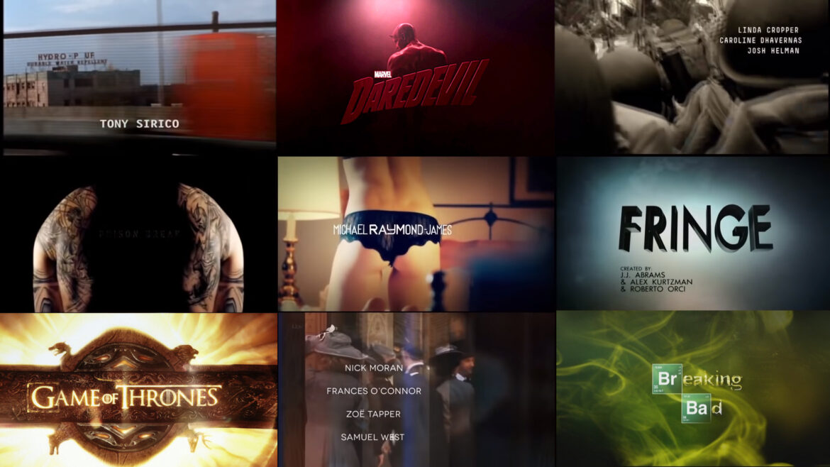 Title Sequence Cover
